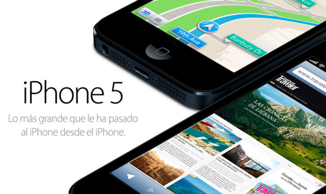 iPhone 5... AGOTADO