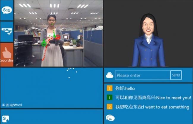 Usan Kinect para traducir el lenguaje de signos en tiempo real