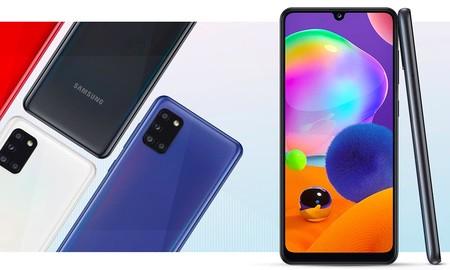 Estrenar un Samsung Galaxy A31 sólo te costará 259 euros is lo pides a AliExpress Plaza usando el cupón PIDEJULIO20