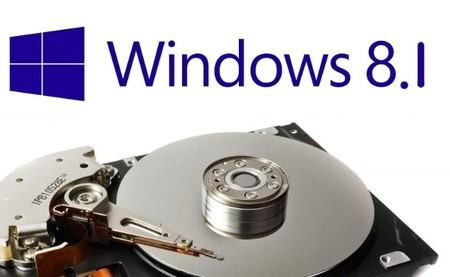 La actualización a Windows 8.1 necesitará 4 GB libres en tu disco duro