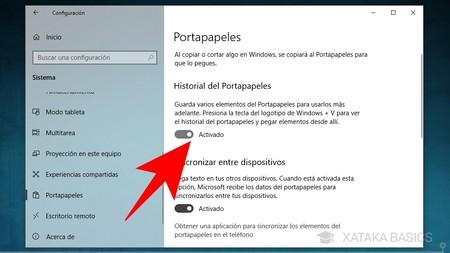 Historial Del Portapapeles
