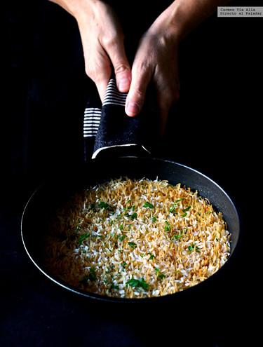 Bil Shareyah o arroz con fideos. Receta de raíces egipcias