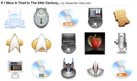 Set iconos Star Trek