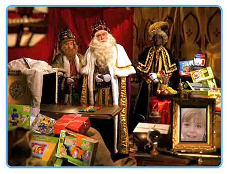 Sorprende a los niños con un vídeo de Papa Noël o los Reyes Magos, un año más