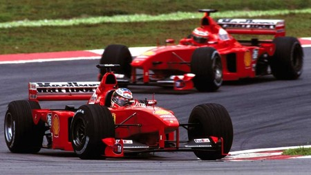 Schumacher Irvine Malasia F1 1999