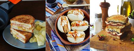 Siete recetas de sándwiches y bocadillos calientes fáciles y originales