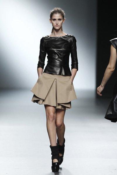 Amaya Arzuaga en la Cibeles Madrid Fashion Week Otoño-Invierno 2011/2012