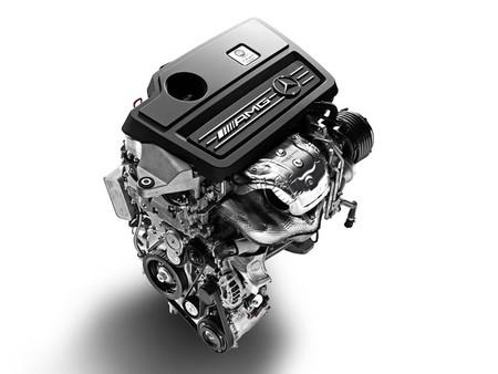 Motor del A45 AMG