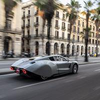 El eléctrico Hispano Suiza Carmen ya ha paseado sus 1,5 millones de euros y más de 1.000 CV por Barcelona