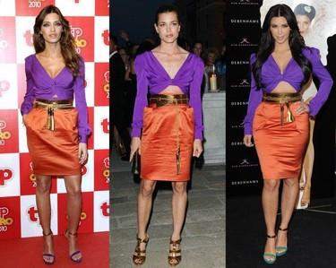 Sara Carbonero, Carlota Casiraghi y Kim Kardashian: tres mujeres, tres estilos pero un solo vestido