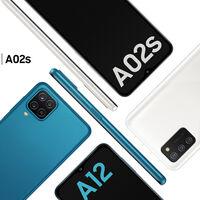 Samsung Galaxy A12 y A02s: a la conquista de la gama de entrada a base de batería