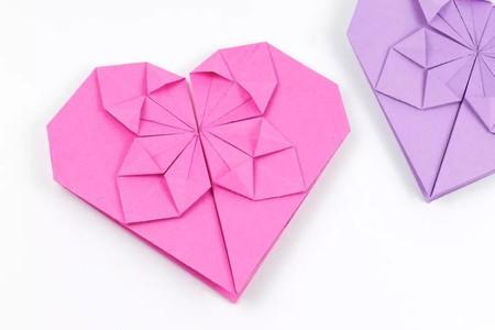 Manualidades San Valentin Origami