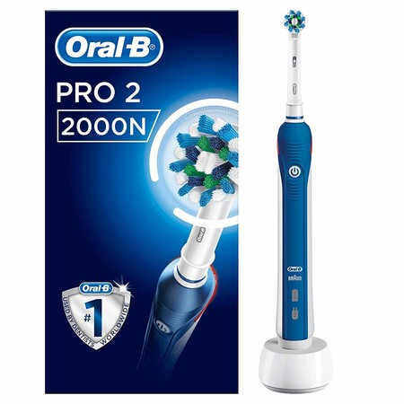 Black Friday 2019: cepillo eléctrico Oral-B PRO 2 2000N CrossAction a precio mínimo en Amazon