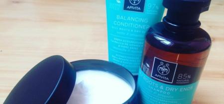 Probamos los productos equilibrantes  y nutritivos de Apivita para el pelo. O mejor dicho, ¡pelazo!