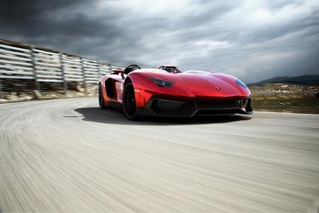 Lamborghini ha presentado el nuevo Aventador J