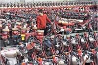 Lo mal que está el mercado de la moto