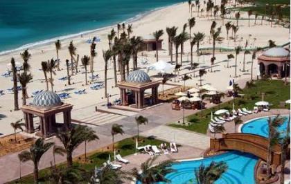 Playa en Emirates Palace