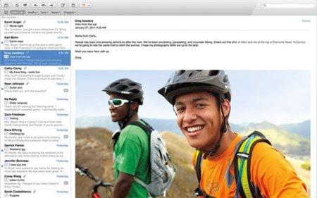 Mac OS X Lion Mail 5