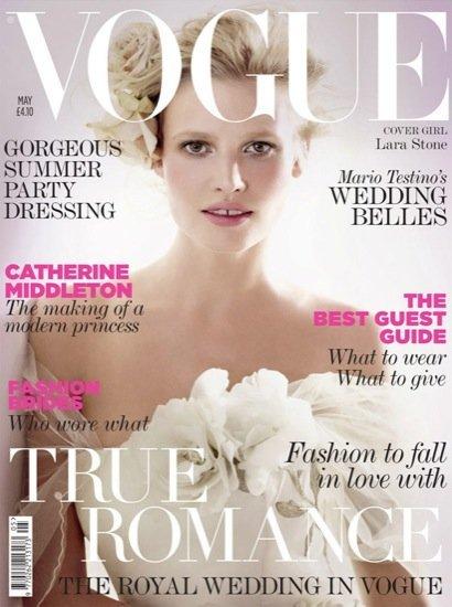 Triple acierto de Vogue: tres portadas con Lara Stone, Freja Beha Erichsen y Natalia Vodianova