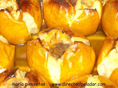 Receta de manzanas asadas