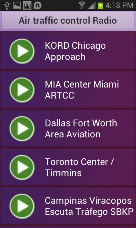 Air Traffiv Control Radio