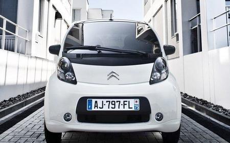 Ventas de turismos y furgonetas eléctricas en Francia durante 2012