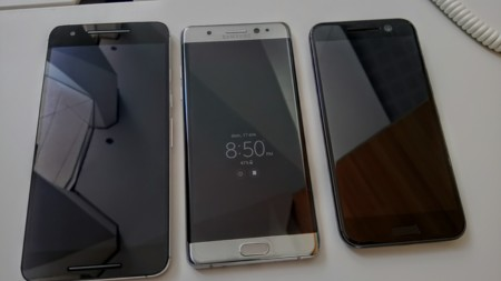 Samsung Galaxy Note Comparativa Tamano