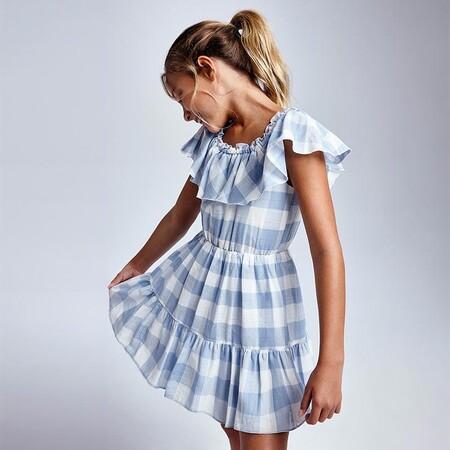 Vestido Cuadros Chica Id 21 06925 075 800 1