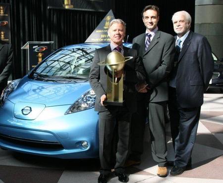 Nissan Leaf: Coche del Año en el Mundo