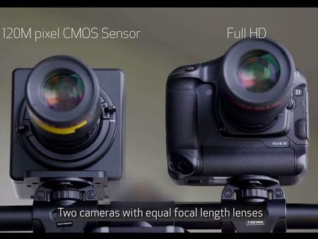 Así es el impresionante sensor de 120 MP desarrollado por Canon