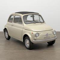 """El Fiat 500 F será parte de la exposición """"el valor del buen diseño"""" en el MoMA"""