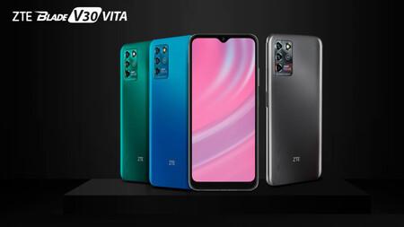 Lanzamiento de características oficiales de Zte Blade V30 Vita en México