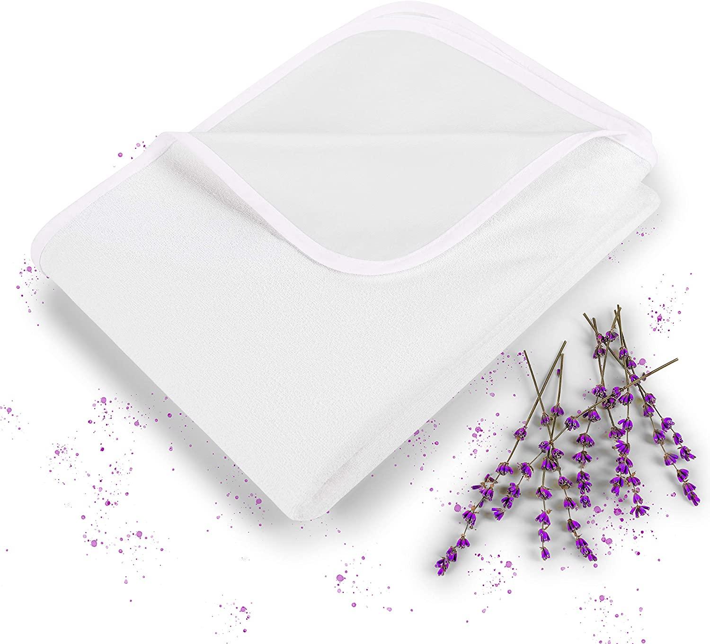 Blumtal Protector de Colchón Impermeable - 120 x 190cm Protección de colchón de algodón Transpirable con Esquinas elásticas