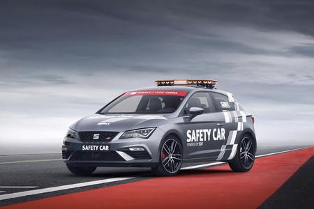 El SEAT León CUPRA es el nuevo Safety Car del Campeonato del Mundo de Superbikes