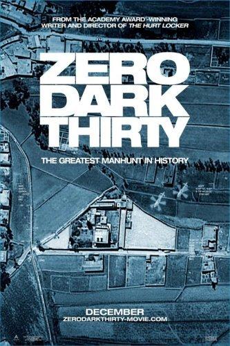 'Zero Dark Thirty', cartel de la película de Kathryn Bigelow sobre la caza de Bin Laden