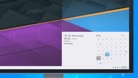 Calendario KDE