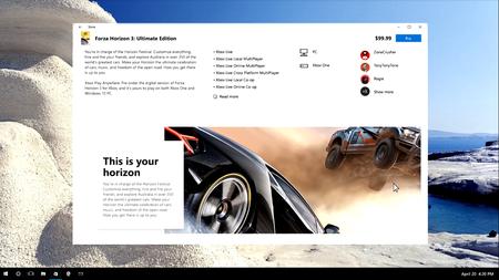 Microsoft Fluent Design System Tienda