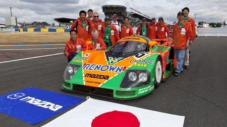 El Mazda 787B vuelve a Le Mans 20 años después