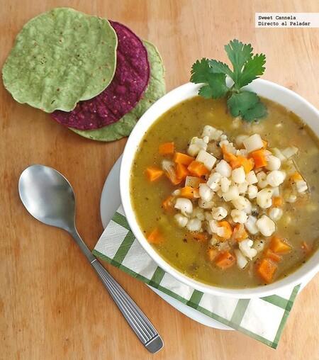 Tipos De Pozole Como Se Hace Cada Receta Verde Vegetariano Recetas