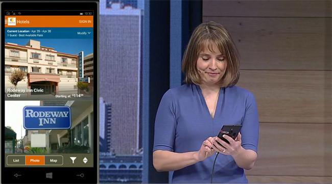 Una app Android sobre Windows Phone 10