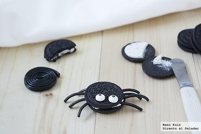 Arañas Oreo