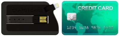 ChargeCard, el cable para cargar tu dispositivo iOS con forma de tarjeta