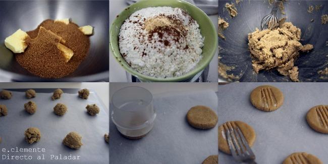 Paso a paso galletas de azúcar moreno