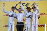 Lewis gana y Mercedes AMG ya es campeona