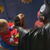 Leonard Robinson no dejó de ser el Batman que hacía felices a los niños hasta el último momento de su vida
