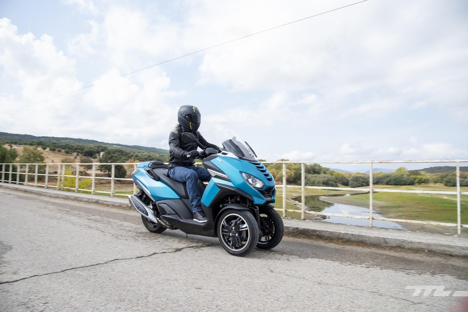 Peugeot Metropolis 2020, prueba