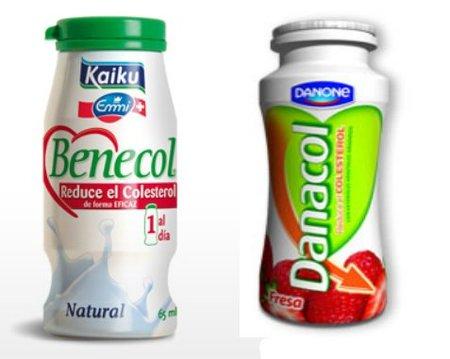 Danacol y Benecol, no recomendados para niños, embarazadas ni durante la lactancia