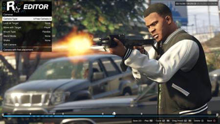 El editor de Rockstar para GTA V llega en septiembre a PS4 y Xbox One con nuevas características