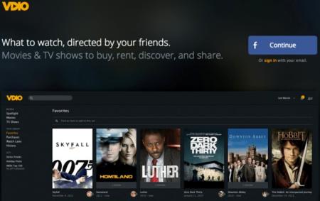 Vdio, el nuevo servicio de streaming de películas y series de Rdio