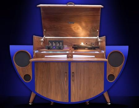 Este mueble multimedia de Tutti Audio te devuelve al siglo XX con tecnología de hoy